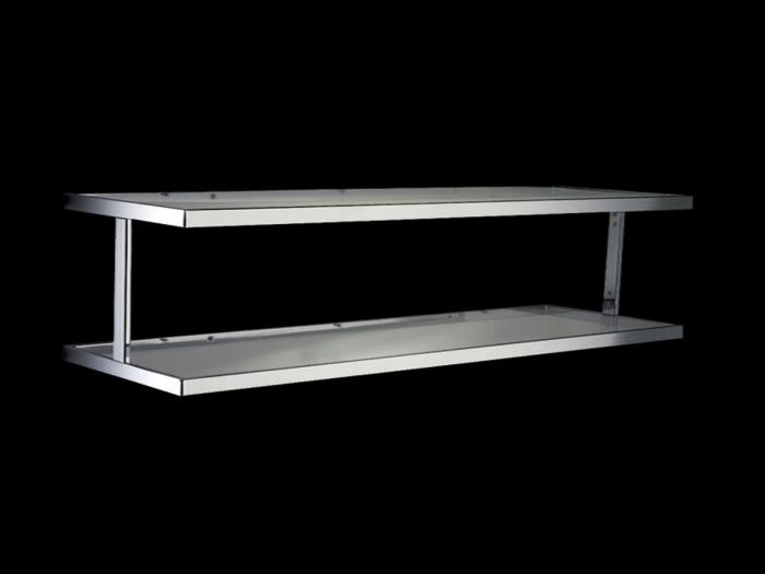 Stand tubo quadro mensola manichino shop for Arredo stand